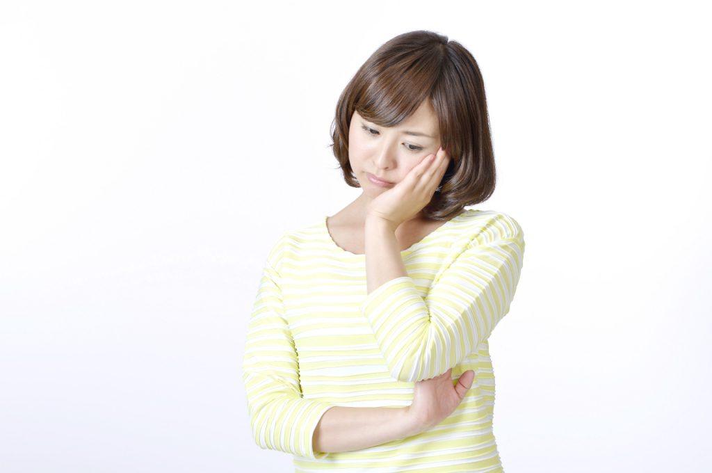 悩み顔 (1)